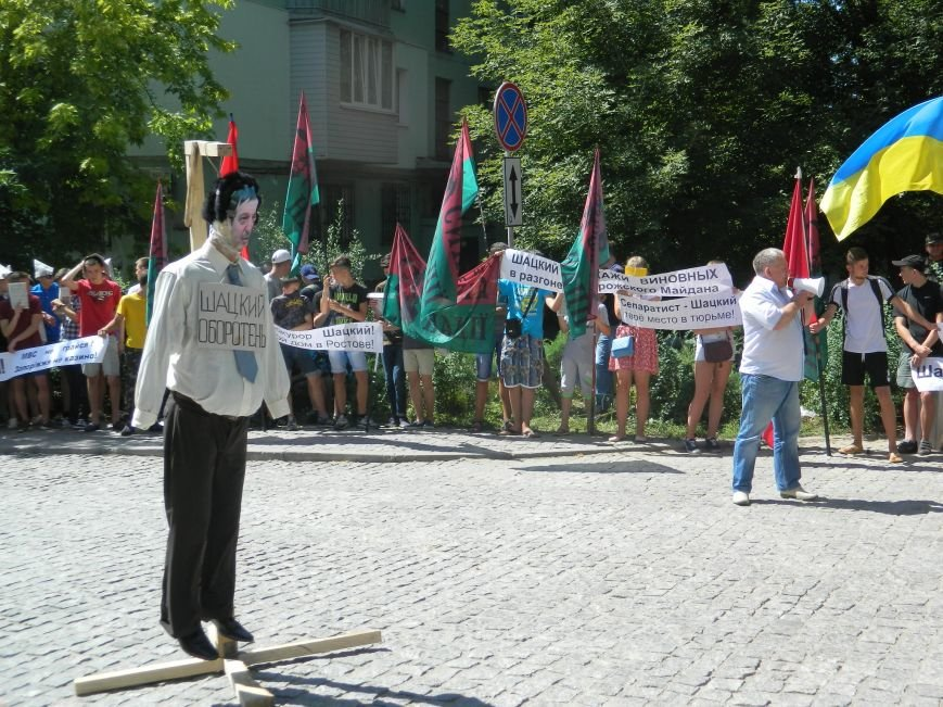 В запорожье митинг «Силы нации» разогнал «Правый сектор» (ВИДЕО, ФОТО) (фото) - фото 2