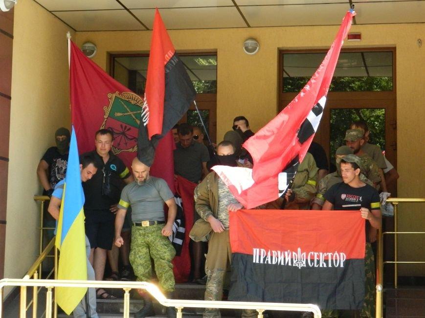 В запорожье митинг «Силы нации» разогнал «Правый сектор» (ВИДЕО, ФОТО) (фото) - фото 6