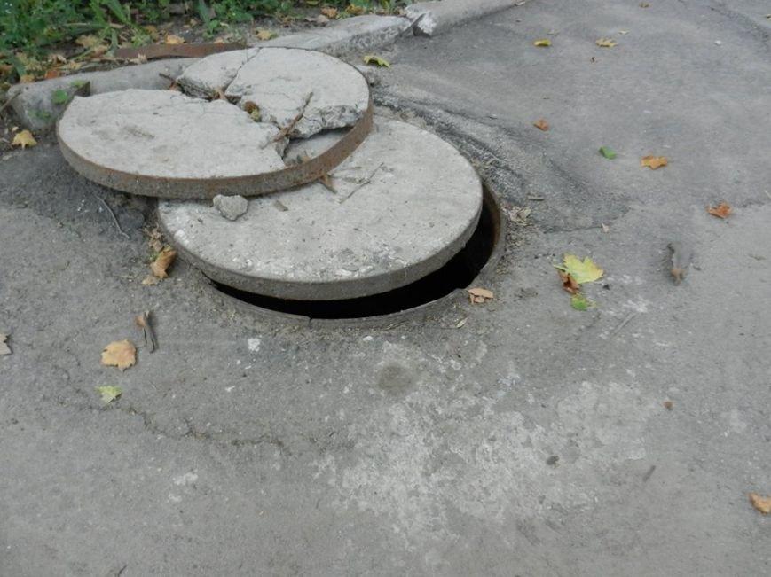 Городские власти халатно отнеслись к насущным проблемам николаевских дворов (ФОТО) (фото) - фото 1