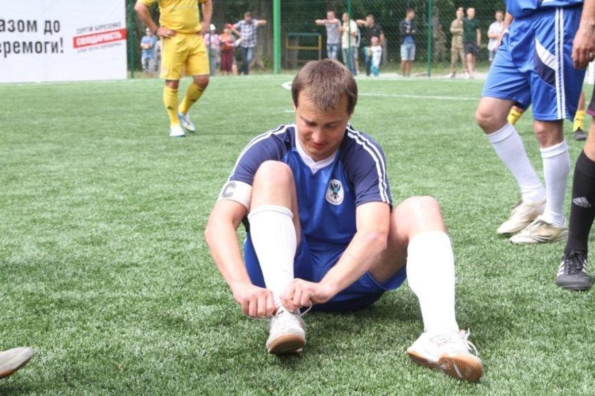 Ярмоленко и Березенко сыграли за команду Чернигова в честь открытия нового футбольного поля, фото-4