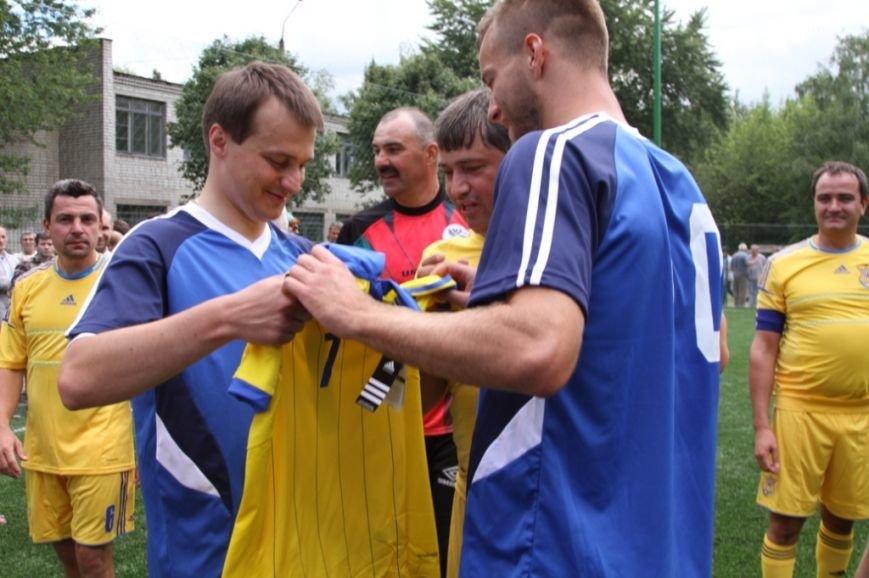 Ярмоленко и Березенко сыграли за команду Чернигова в честь открытия нового футбольного поля, фото-5