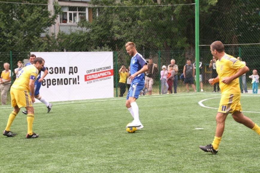 Ярмоленко и Березенко сыграли за команду Чернигова в честь открытия нового футбольного поля, фото-3