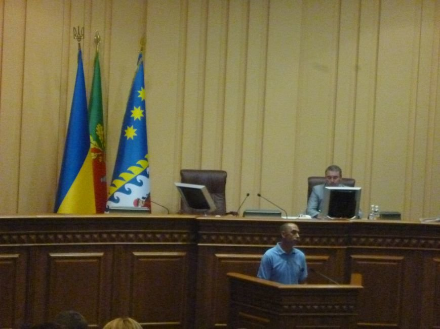 Представители футбольного «Кривбасса» пытались достучаться к депутатам горсовета  (ФОТО) (фото) - фото 1