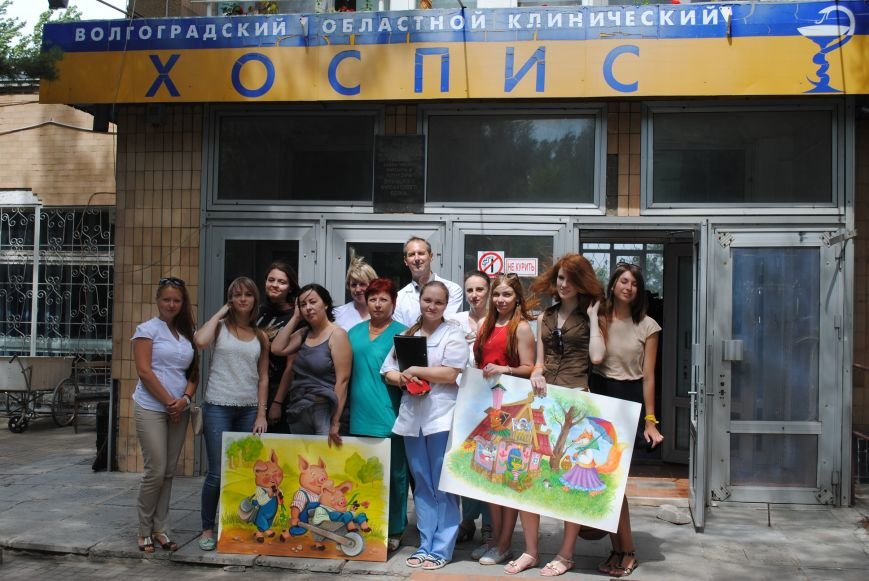 В волгоградском Горхозе написали картины для ангелов, фото-3