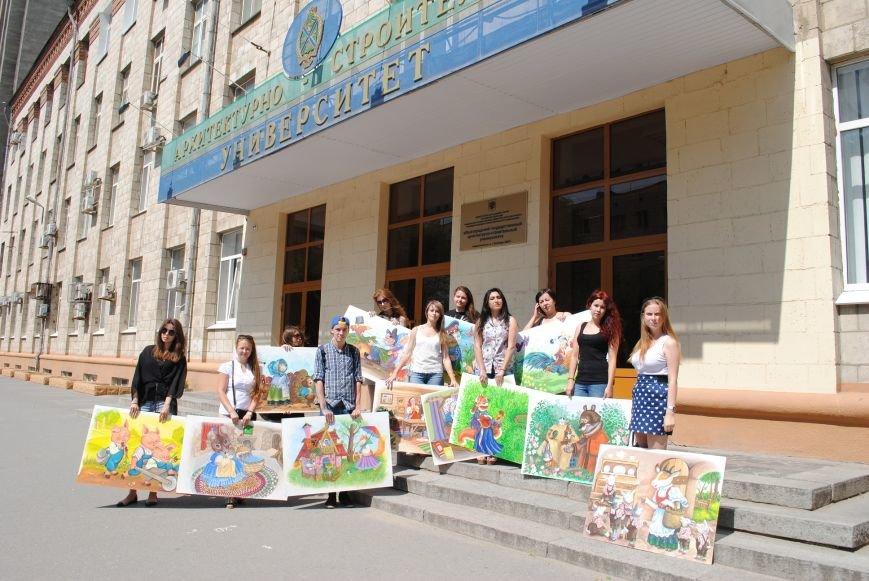 В волгоградском Горхозе написали картины для ангелов, фото-1