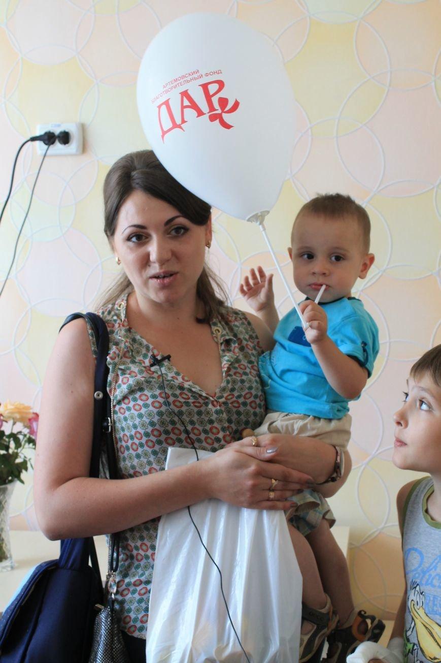 ПоДАРки артемовским малышам, фото-8