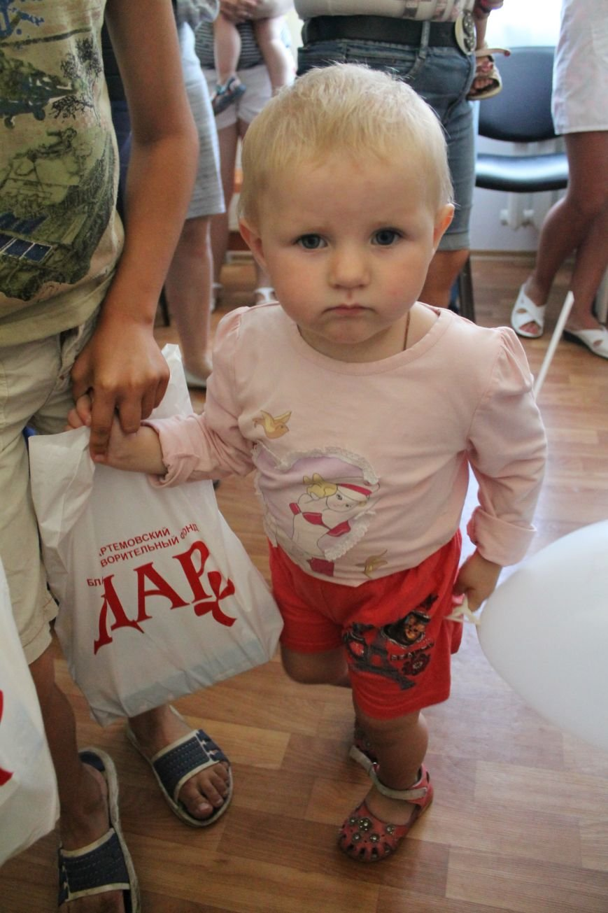 ПоДАРки артемовским малышам, фото-6