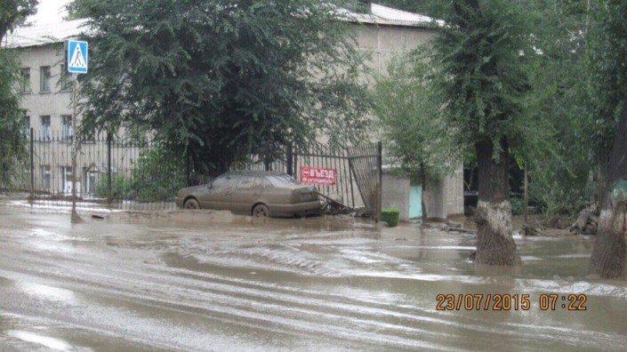 Мощный сель сошёл в Алматы (фото) - фото 11