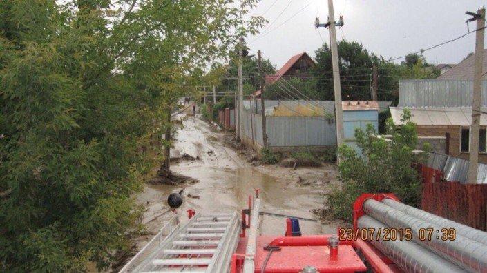 Мощный сель сошёл в Алматы (фото) - фото 3