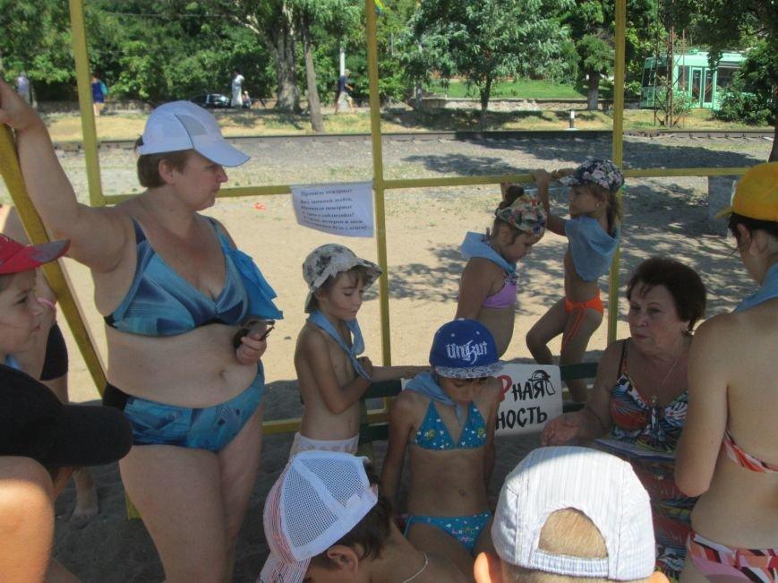 Мариупольские дети праздновали день защиты дельфинов и безопасности (ФОТО), фото-6