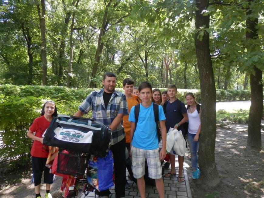 Дети из Авдеевки отдохнули в «Жемчужине Приднепровья» (ФОТО), фото-2