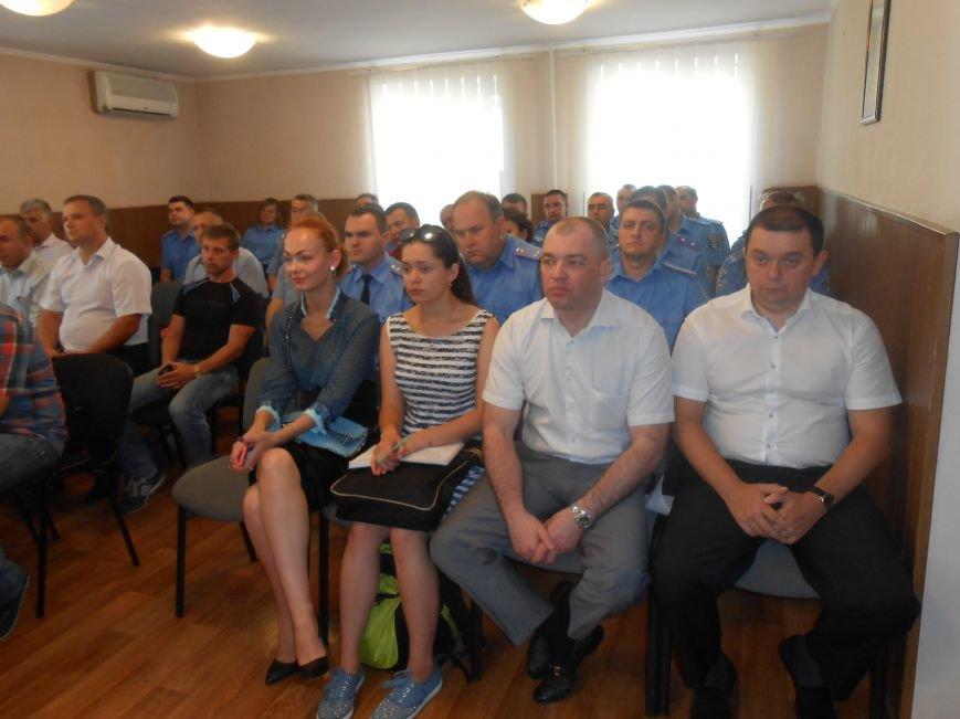 В Днепродзержинске представили нового начальника городского управления милиции (фото) - фото 3
