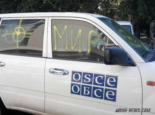 Дончане протестуют против ОБСЕ (ФОТО) (фото) - фото 1