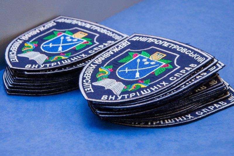 Днепродзержинские старшеклассники получили шевроны «молодого курсанта» (фото) - фото 1