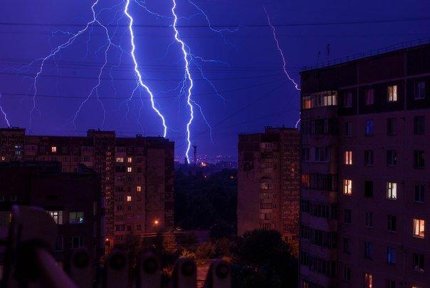 Як у Тернополі блискало і гриміло (Фото, відео) (фото) - фото 1