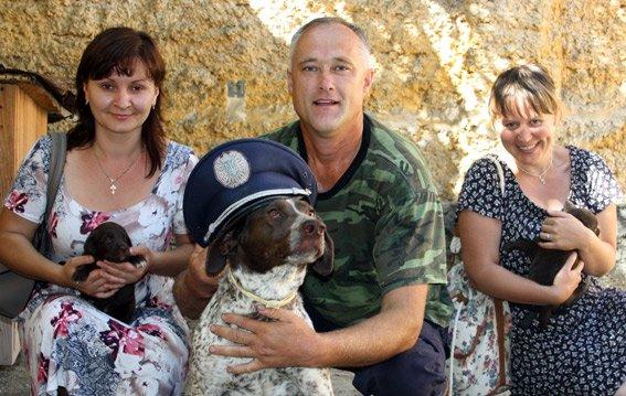 Кинологический центр при Кременчугском городском отделе милиции пополнил ряды девятью щенками (ФОТО) (фото) - фото 1