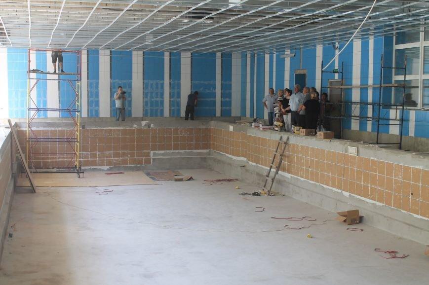 Работы по реконструкции артемовского бассейна на завершающей стадии, фото-1
