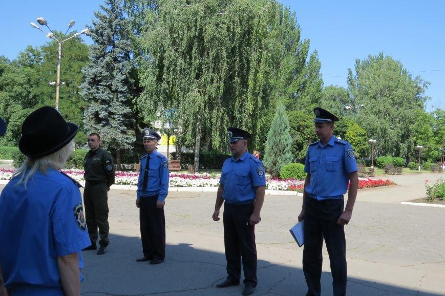 Пятничный инструктаж нарядов милиции в Красноармейске, фото-2