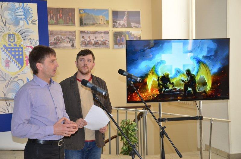 Украинские военные глазами литовской художницы: в Днепропетровске открылась выставка Беаты Куркуль (фото) - фото 1
