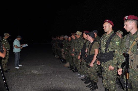 Николаевские спецназовцы привезли с Востока благодарность (ФОТО) (фото) - фото 1