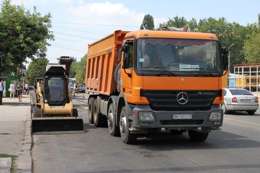 Сезон ремонта николаевских дорог в самом разгаре (ФОТОРЕПОРТАЖ) (фото) - фото 9
