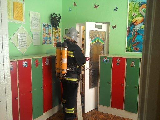 У Красилові гасили умовну пожежу у дитсадку (ФОТО) (фото) - фото 1