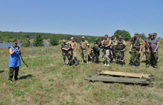 Под Мариуполем новосозданный батальон милиции вышел на полигон (ФОТОРЕПОРТАЖ) (фото) - фото 2