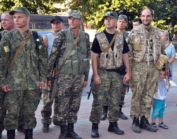 Полтавські правоохоронці повернулися з зони АТО. Фото (фото) - фото 1