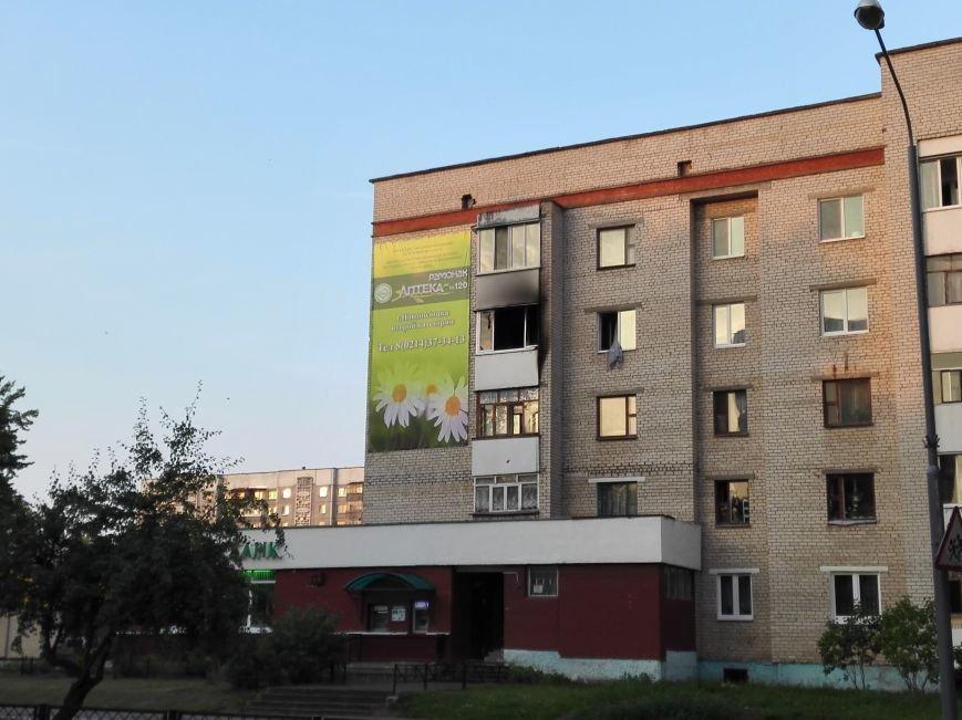Ночной пожар в доме Молодежная, 16, фото-3