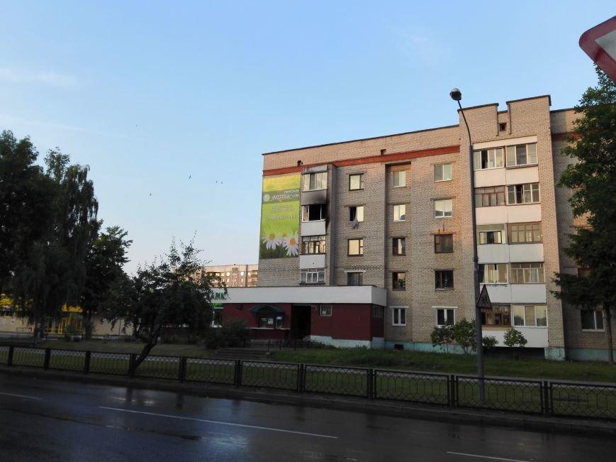 Ночной пожар в доме Молодежная, 16, фото-1