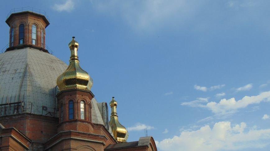 На центральном мариупольском храме засверкали золотом 4 новых купола (ФОТОФАКТ) (фото) - фото 2