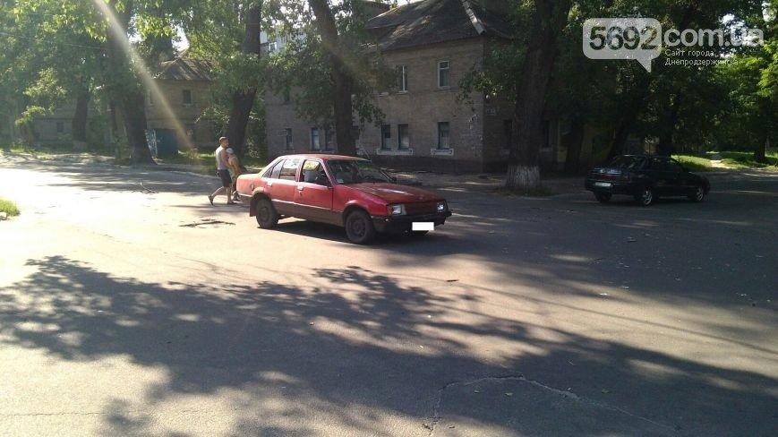 В Днепродзержинске произошло ДТП на пересечении улиц Матросова и Беседова (фото) - фото 2