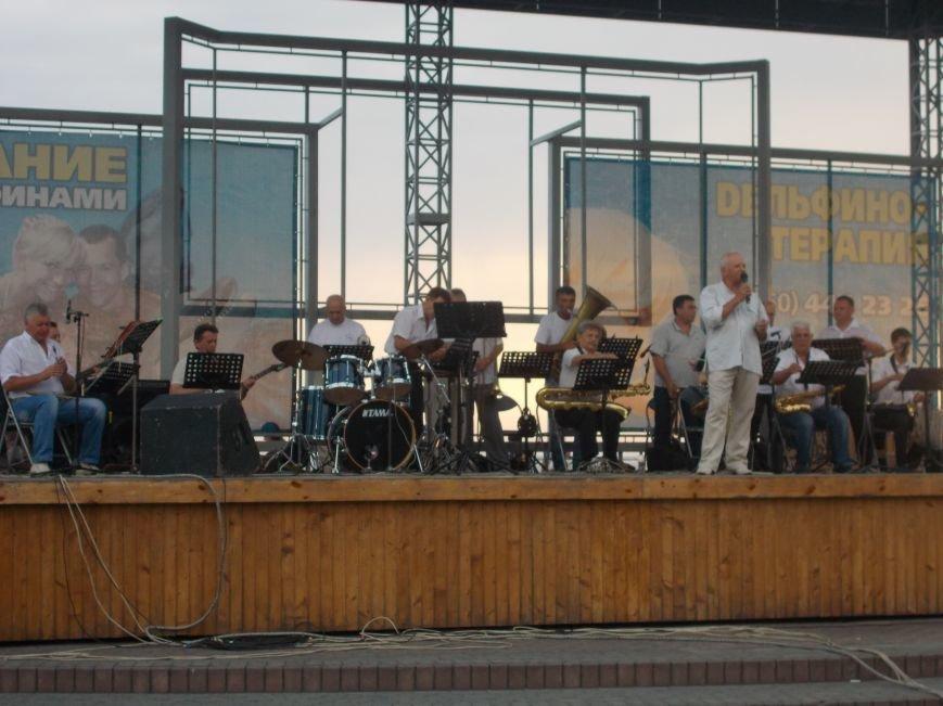 В Бердянске состоялся концерт оркестра «Азовская чайка» (фото) - фото 5