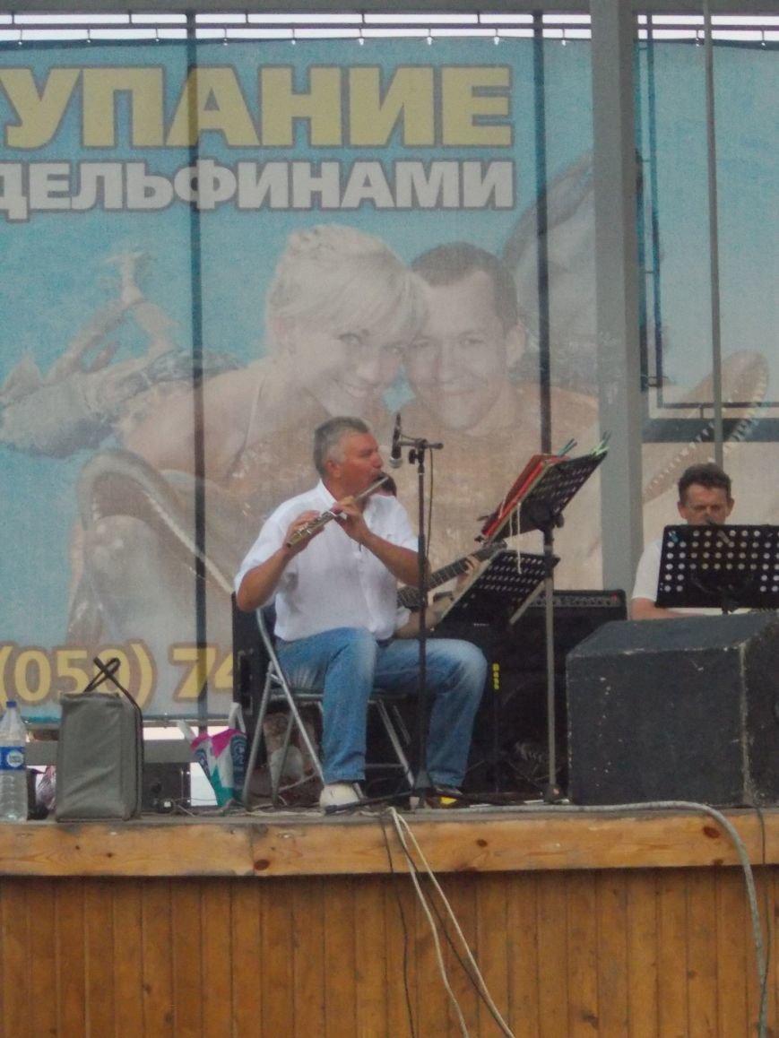В Бердянске состоялся концерт оркестра «Азовская чайка» (фото) - фото 4