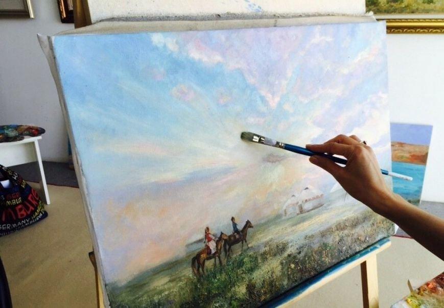 Для молодых художников Мангистау организовали мастер-класс по пейзажу, фото-3