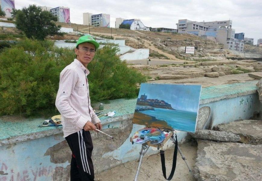 Для молодых художников Мангистау организовали мастер-класс по пейзажу, фото-2