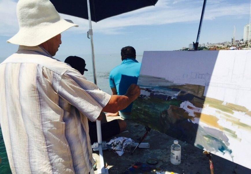 Для молодых художников Мангистау организовали мастер-класс по пейзажу, фото-4