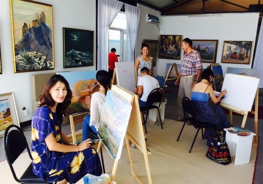 Для молодых художников Мангистау организовали мастер-класс по пейзажу, фото-1