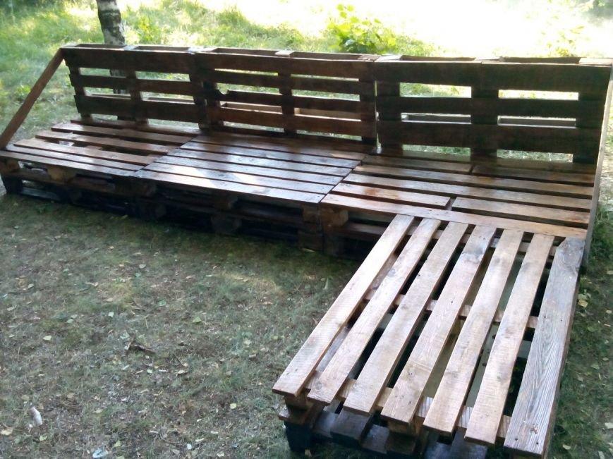 У Полтаві створили меблі для парку (фото) - фото 1