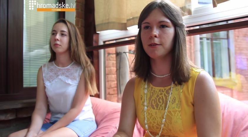 Співорганізатор заходу Анна Ютченко (кадри Полтавського Громадського)