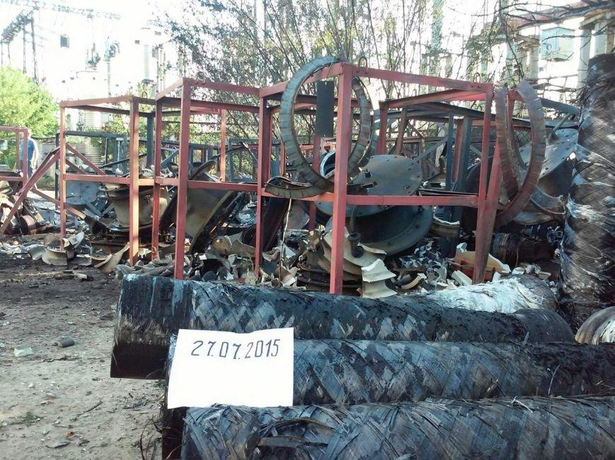 Краматорчане ощутили обстрел Углегорской ТЭС (фото) - фото 1