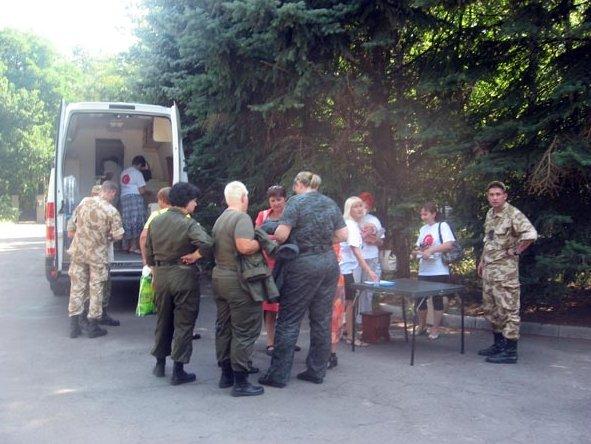 Сегодня в Славянске проверили на гепатит С нацгвардейцев, которые вернулись из зоны АТО (фото) - фото 1