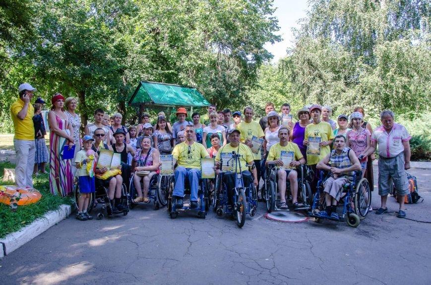 На озере Рапное краматорские инвалиды соревновались в плавании (ФОТО), фото-20