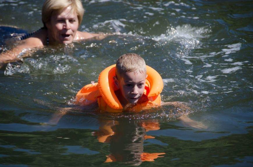 На озере Рапное краматорские инвалиды соревновались в плавании (ФОТО), фото-4