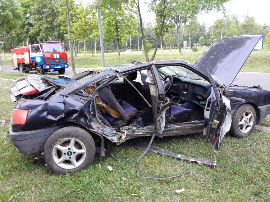 ДТП в Новополоцке: 1 пострадавший, водитель скрылся с места происшествия (Фото), фото-7