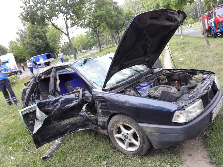 ДТП в Новополоцке: 1 пострадавший, водитель скрылся с места происшествия (Фото), фото-6