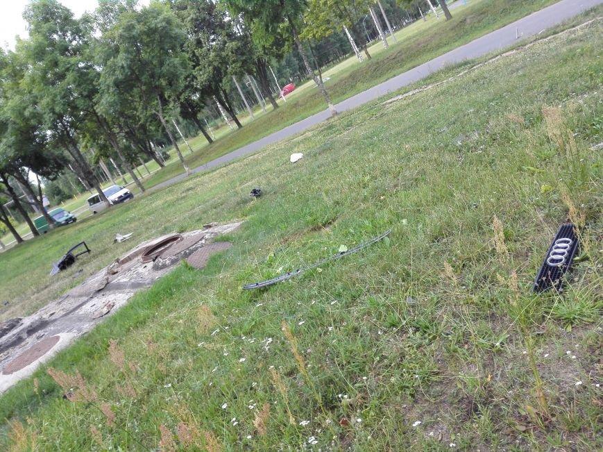 ДТП в Новополоцке: 1 пострадавший, водитель скрылся с места происшествия (Фото), фото-5