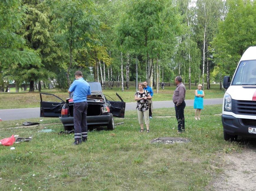 ДТП в Новополоцке: 1 пострадавший, водитель скрылся с места происшествия (Фото), фото-4