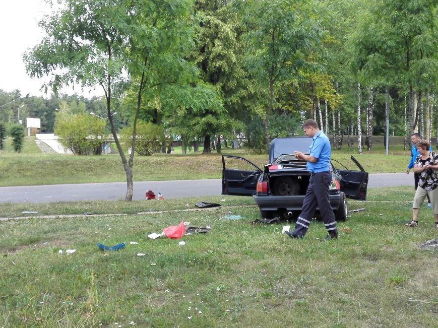 ДТП в Новополоцке: 1 пострадавший, водитель скрылся с места происшествия (Фото), фото-3