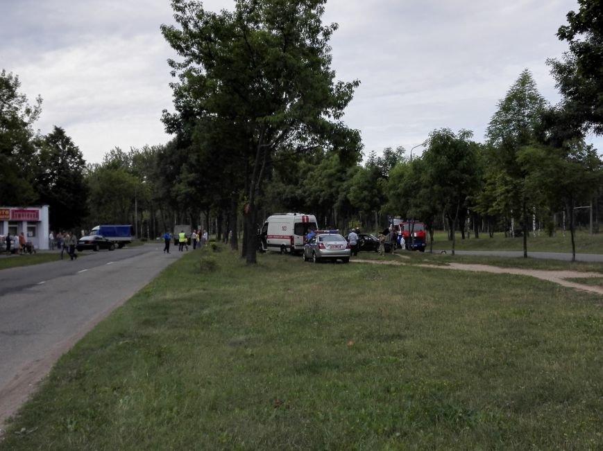 ДТП в Новополоцке: 1 пострадавший, водитель скрылся с места происшествия (Фото), фото-1